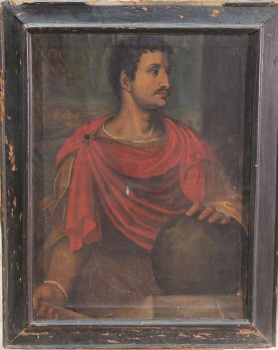 """Portrait d""""empereur, XVIIe s. Col.Part."""