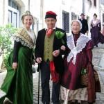 Couple de Roussillonnais 1840 et Arlésienne