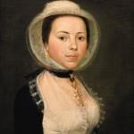 Arlésienne, portrait attribué a Raspal, ancienne Collection Aubanel