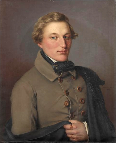 Portrait d'Heinrich Nicolaus Horstmann  par Sömmer Johann Georg (1811-1864)