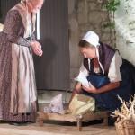 Paysannes de Provence sur le marché