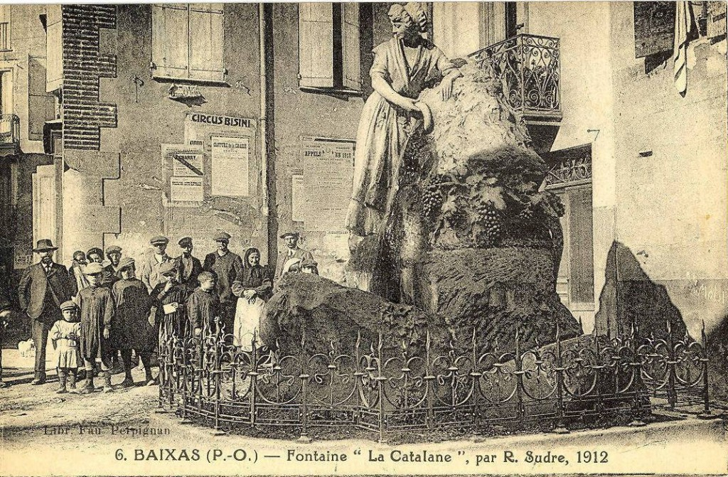 "Fontaine ""la catalane"", Baixas."