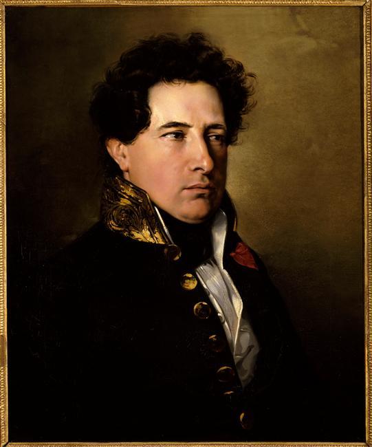 Isidore-Justin-Séverin, baron Taylor, inspecteur des Beaux-Arts en 1838 (1789-1879) par Madrazo, Château de Versailles