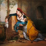 Jean-Augustin Franquelin - la femme du pêcheur, vers 1825