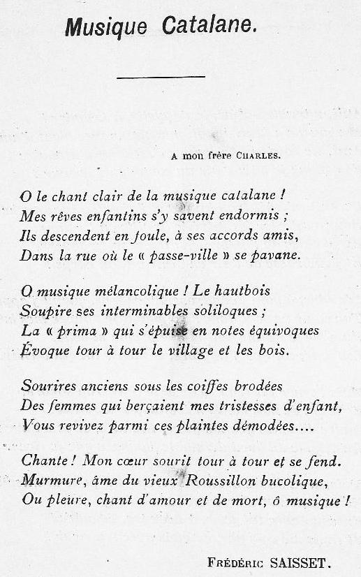 Revue la Clavellina 1900
