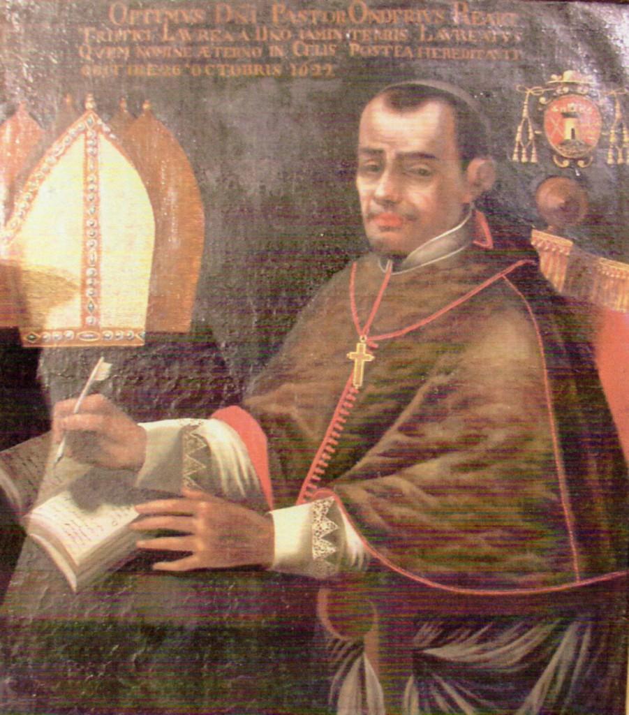 Portrait d'Onuphre Réart, évêque de Perpignan, collection diocésaine.
