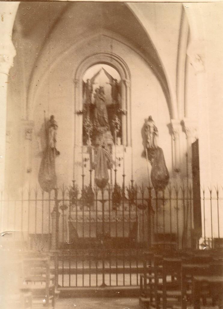 Chapelle des Trappistines d'Espira de l'Agly, collection institut du Grenat.