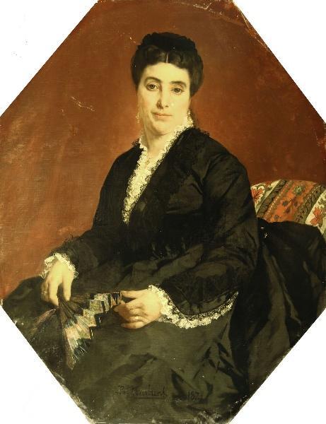 Portrait de madame Carraguel, Musée de Narbonne.