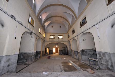 Vue de l'église des Capucins de Perpignan