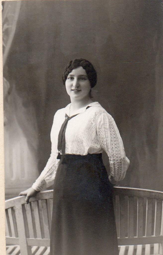 Jeanne ANDRE epouse de Joseph CHARPENTIER