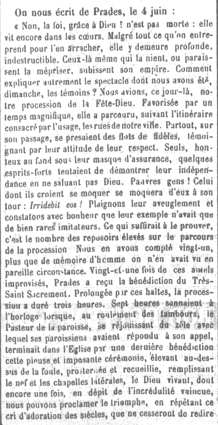 Le Roussilon 1872
