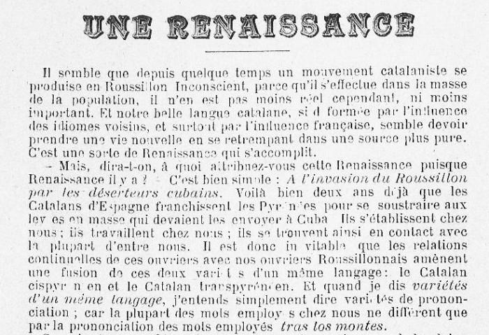 La Clavellina 1898