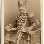 le Shah d'Iran en 1873.