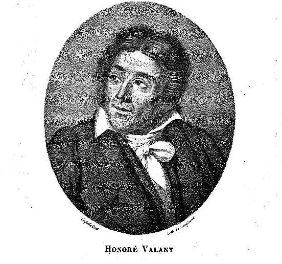 Portrait d'H.Valant par le peintre Capdebos.