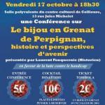 Collioure conférence Grenat