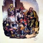 famille de gitans, Alphonse Bayot, 1833.