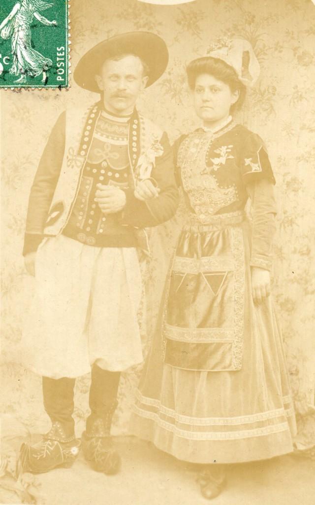 Le couple Botrel