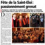 Premsa per la sant Eloi 2013