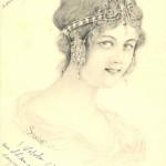 Bijoux et cartes postales Art nouveau