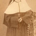 Soeur d'un couvent de Perpignan, fille de Mathias Nogueres cliché JACOB Perpignan
