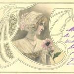 Bijoux et cartes postales Art nouveauBijoux et cartes postales Art nouveau