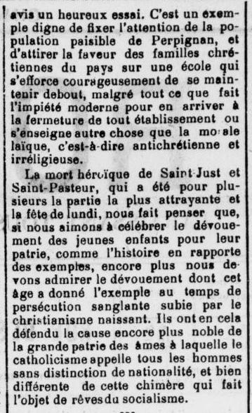 Le Roussillon 1905   09 03