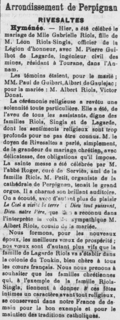 Le Roussillon 1905 19 04
