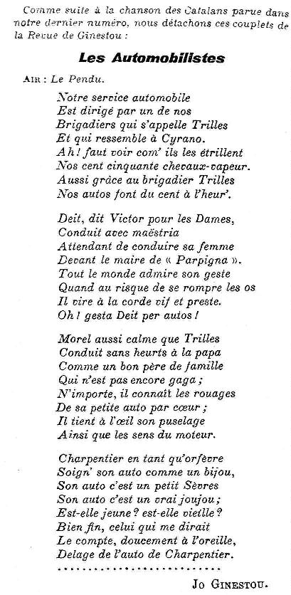 avril 1919 Le Cri Catalan