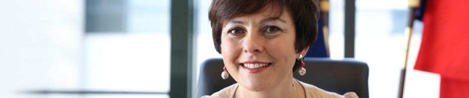 Carole Delga à Perpignan