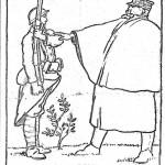 dessin de Gustave VIOLET paru dans LE CRI CATALAN octobre 1916