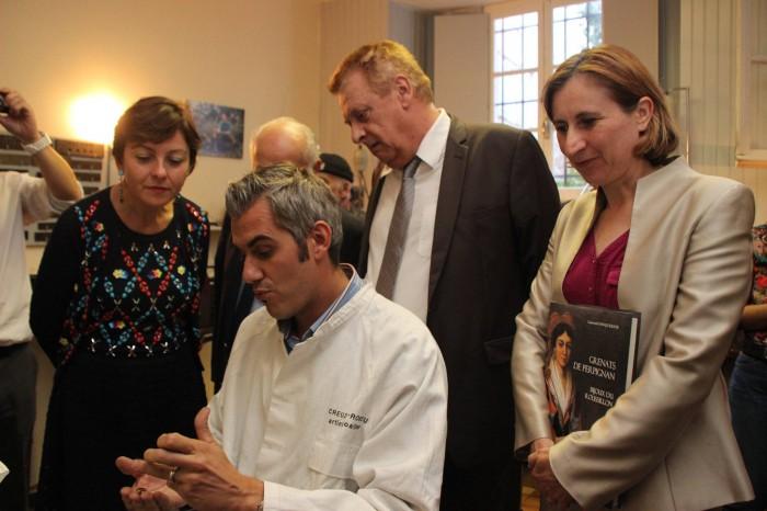 grenat de Perpignan visite Ministre