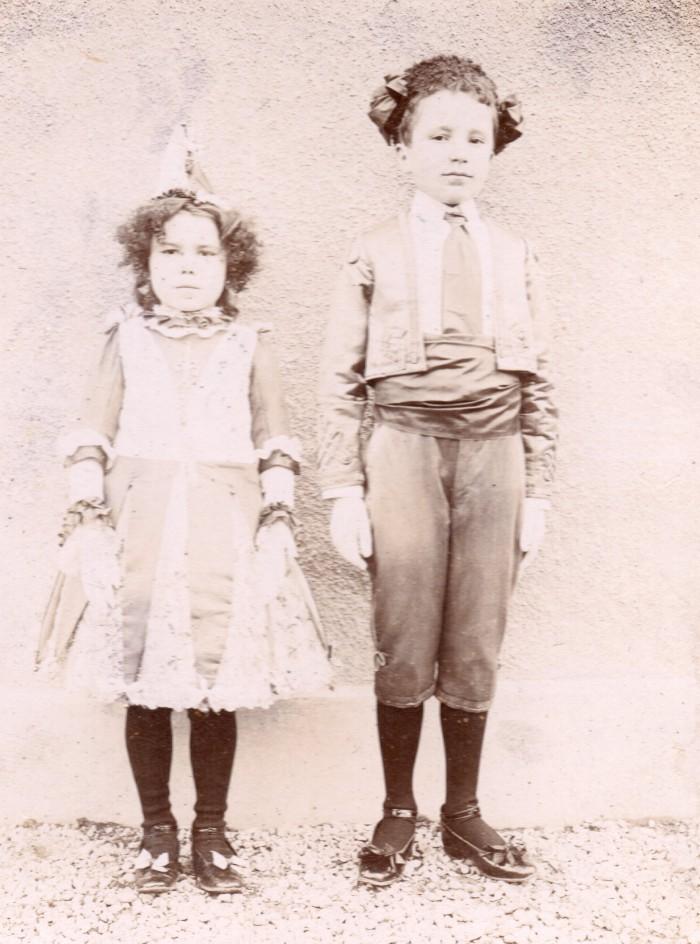 Costumes de carnaval, Perpignan début du XXe s.