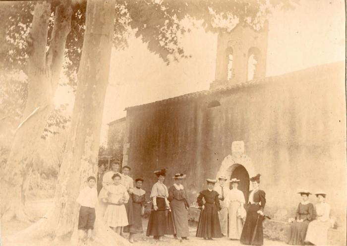 Ermitage de la Salut à Pia vers 1904.
