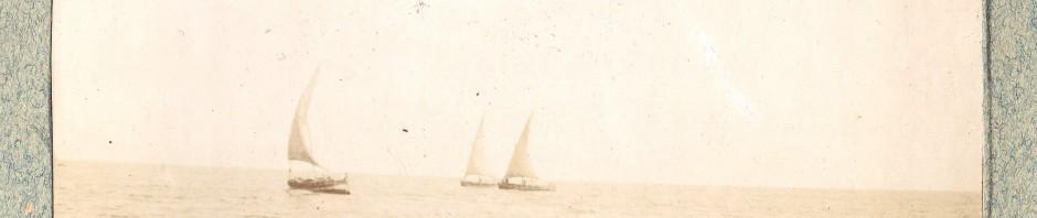 Le Barcarès, la plage en 1904.