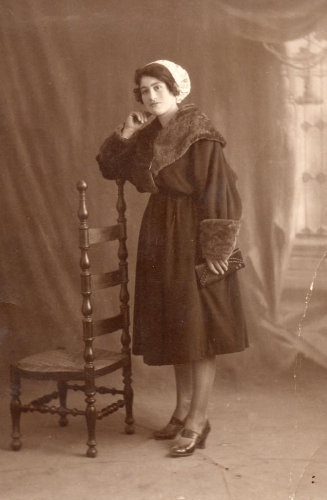 photo Glaser à Perpignan, années 20.
