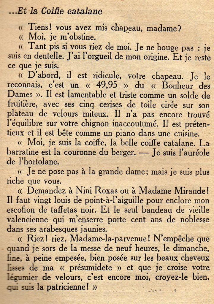 L'âne qui mange des roses, Albert Bausil, p.75, 1924.