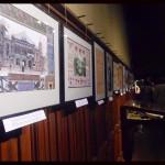 Vue des documents de l'exposition