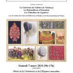 samedi 7 mars 2015 au Musée de la Chemiserie et de l'Elégance masculine à Argenton-sur-Creuse.