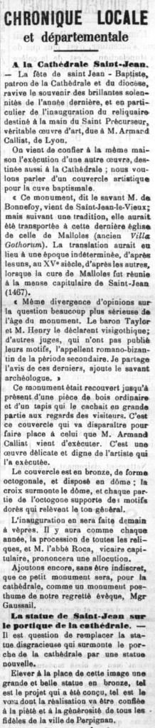 Le Roussillon 1899 24 06 Armand Caillat