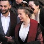 Eloi Pélissier et Mandy Graillon, reine d'Arles en Provence.