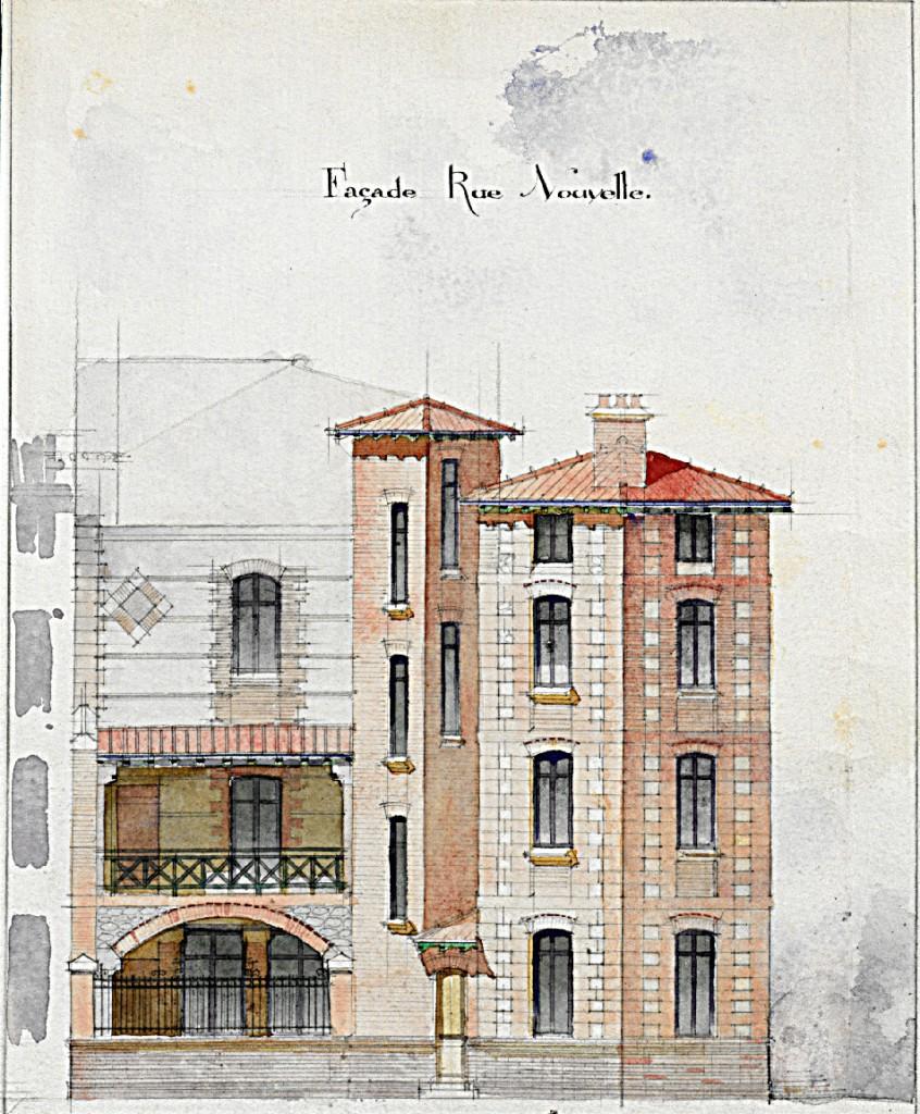 façade rue nouvelle