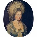 Portrait de femme XVIIIe s.