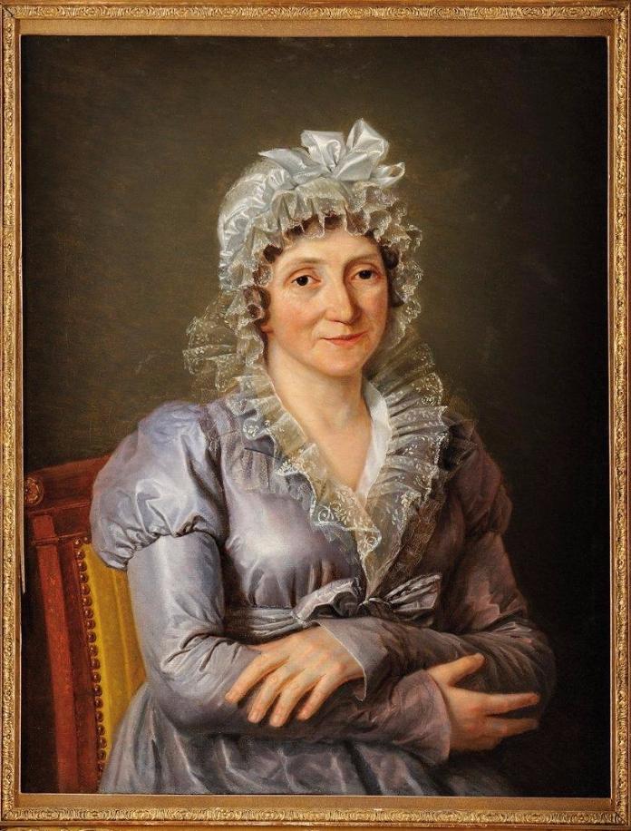 «Portrait de Laetitia Ramolino, Mère de l'Empereur Napoléon 1er.»