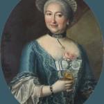 Portrait de femme, XVIIIe s.