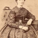 Photo DURAND à Lyon, portrait de -Duriau Isabelle, veuve Morelle.