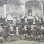 Couvent d'enseignantes, Perpignan, vers 1860.