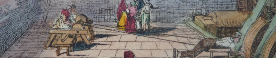 Taillerie de l'agate à Oberstein, 1833.