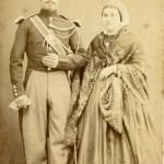 Gendarme et son épouse, cliché Scanagatti à Perpignan