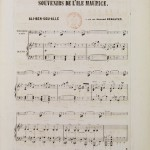 Composition d'Ali Ben Sou Alle (1824-1899)