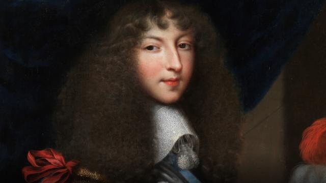 Louis XIV peu de temps avant sa venue à Perpignan.